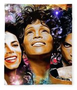 The King, The Queen And The Prince Fleece Blanket