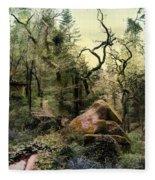 The King's Forest Fleece Blanket