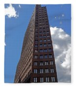 The Kollhoff-tower ...  Fleece Blanket