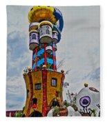 The Kuchlbauer Tower Fleece Blanket