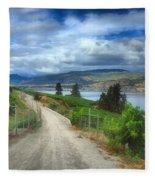 The Kvr Trail In Colour Fleece Blanket
