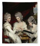 The Ladies Waldegrave Fleece Blanket
