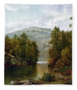The Lake George Fleece Blanket