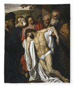 The Lamentation Fleece Blanket
