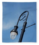The Lamp Post Fleece Blanket
