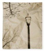 The Lampost Fleece Blanket