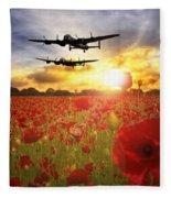 The Lancasters Fleece Blanket