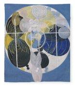 The Large Figure Paintings  No  5 Group 3  Hilma Af Klint 1907 Fleece Blanket