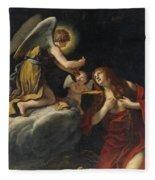 The Last Communion Of The Magdalene Fleece Blanket
