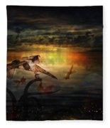 The Last Fairy Tale Fleece Blanket