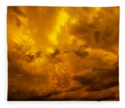 The Last Glow Of The Day 008 Fleece Blanket