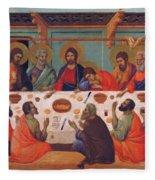 The Last Supper 1311 Fleece Blanket