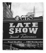 The Late Show Fleece Blanket