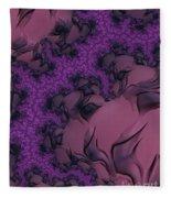 The Lavender Forest 2 Fleece Blanket