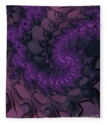 The Lavender Forest 4 Fleece Blanket