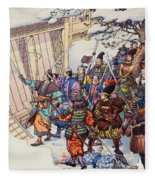 The Legend Of The Forty-seven Ronin Fleece Blanket