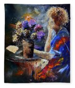 The Letter Fleece Blanket
