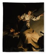 The Liberation Of Saint Peter Fleece Blanket
