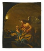 The Liberation Of Saint Peter Fleece Blanket