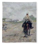 The Light Cavalryman Fleece Blanket