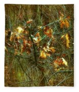 The Light In The Forest Fleece Blanket