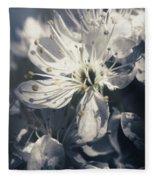 The Light Of Spring Petals Fleece Blanket