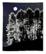 The Light Of The Moon Fleece Blanket