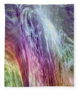 The Light Of The Spirit Fleece Blanket