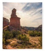The Lighthouse - Palo Duro Canyon Texas Fleece Blanket