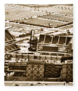The Linc - Aerial View Fleece Blanket