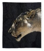 The Lioness Fleece Blanket