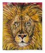 The Lions Selfie Fleece Blanket