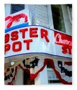 The Lobster Pot #1 Fleece Blanket