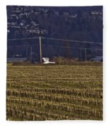 The Loner Fleece Blanket