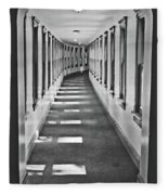 The Long Hall Fleece Blanket