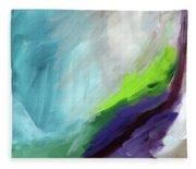 The Long Walk- Art By Linda Woods Fleece Blanket