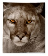 The Look - Florida Panther Fleece Blanket