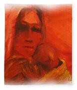 The Lost Child Fleece Blanket