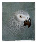 The Love Of A Gray Fleece Blanket