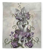 The Love Of The Two Souls Fleece Blanket