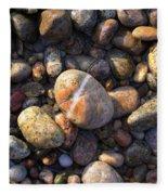 The Lucky Rock Fleece Blanket