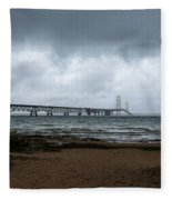 The Mackinac Bridge Fleece Blanket