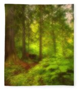 The Magic Forest Fleece Blanket