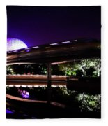 The Magic Of Epcot Fleece Blanket