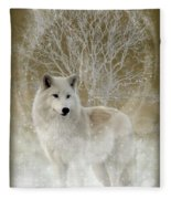 The Magical Wolf Fleece Blanket