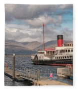 The Maid Of The Loch Fleece Blanket