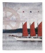 The Margaret Todd Fleece Blanket