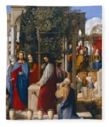 The Marriage At Cana Fleece Blanket