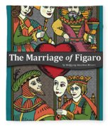The Marriage Of Figaro Fleece Blanket