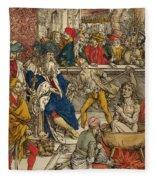 The Martyrdom Of St John Fleece Blanket